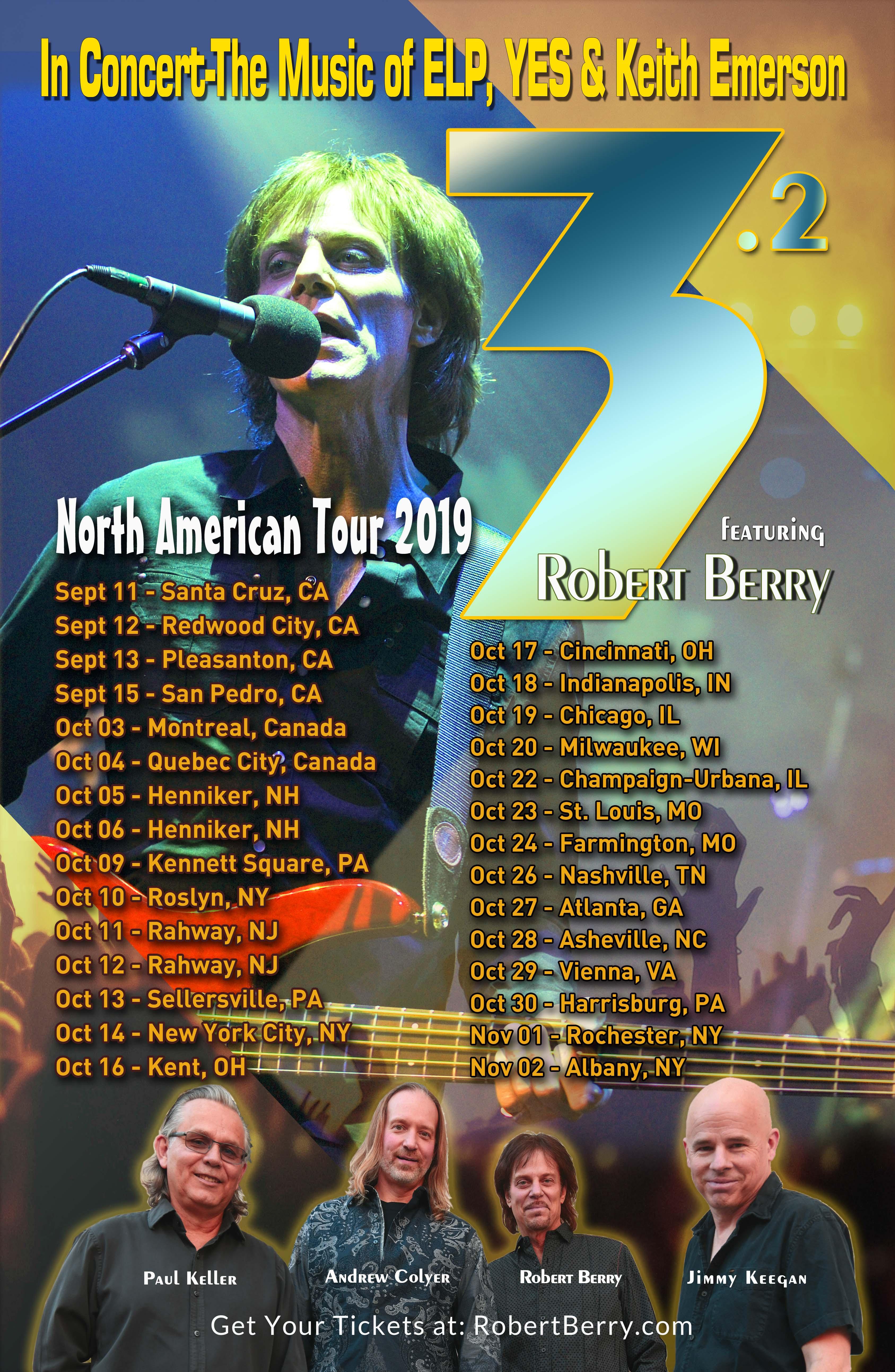 "Robert Berry US tour ""a dream come true"" | Louder"