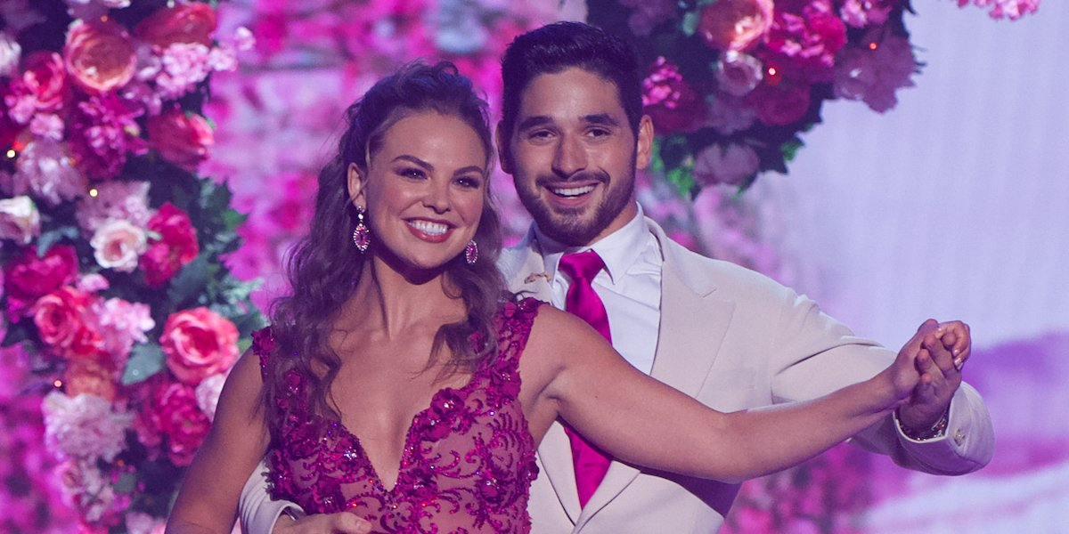 dancing with the stars hannah brown and alan bersten