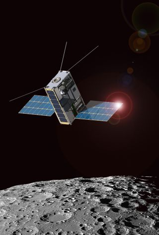 Lunar IceCube: Artist's Concept