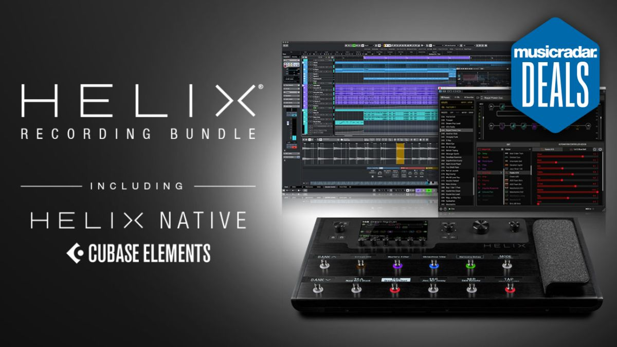 Line 6 is offering $500 of recording software completely free when you purchase a Helix multi-effects unit