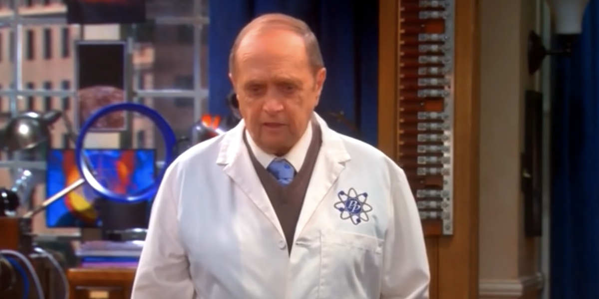 professor proton the big bang theory bob newhart
