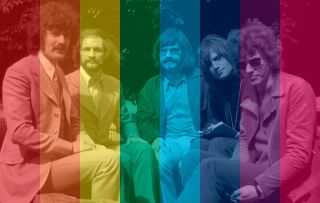 The Moody Blues in 1967