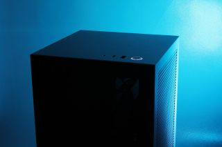 NZXT's H1 is ready for powerful hardware inside its itty-bitty build space.