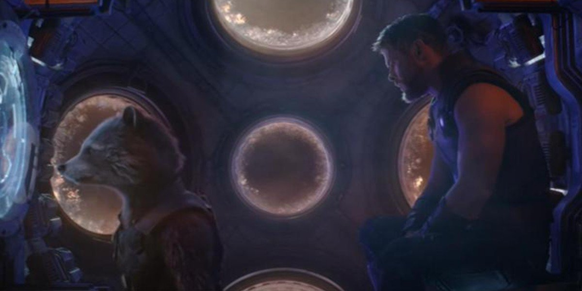 Rocket Raccoon, Thor - Avengers: Infinity War