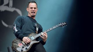 Mark Tremonti performs live with Alter Bridge