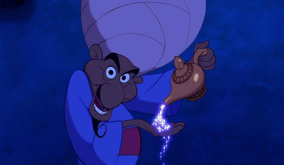 The Peddler in Aladdin