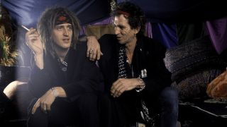 Izzy Stradlin and Keith Richards, 1993