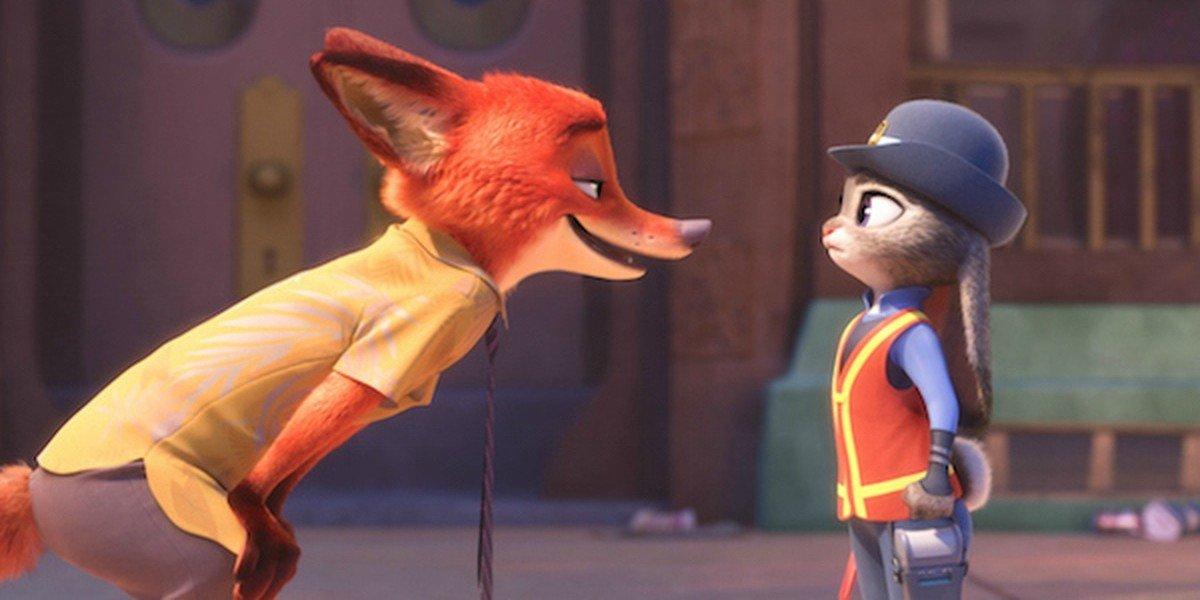 Screenshot from Zootopia