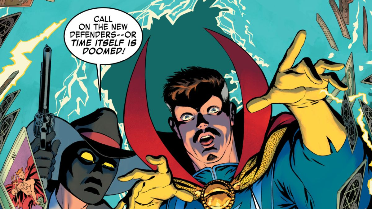 A still from Marvel Comics
