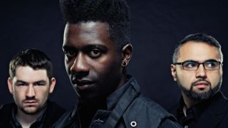 Animals As Leaders portrait against a black background