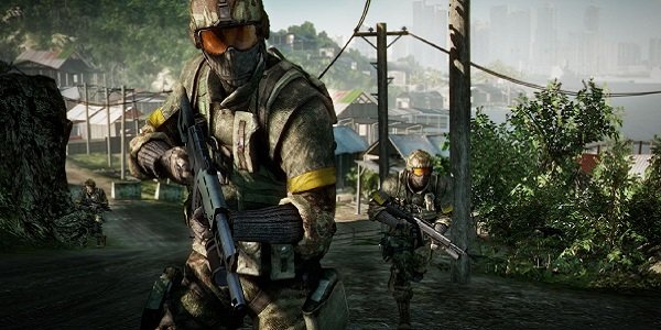Soldiers in Bad Company 2