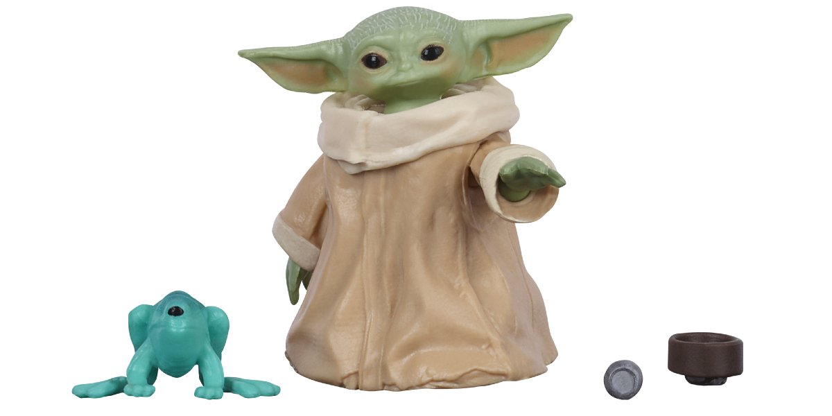 Star Wars Black Series Baby Yoda Action Figure  And