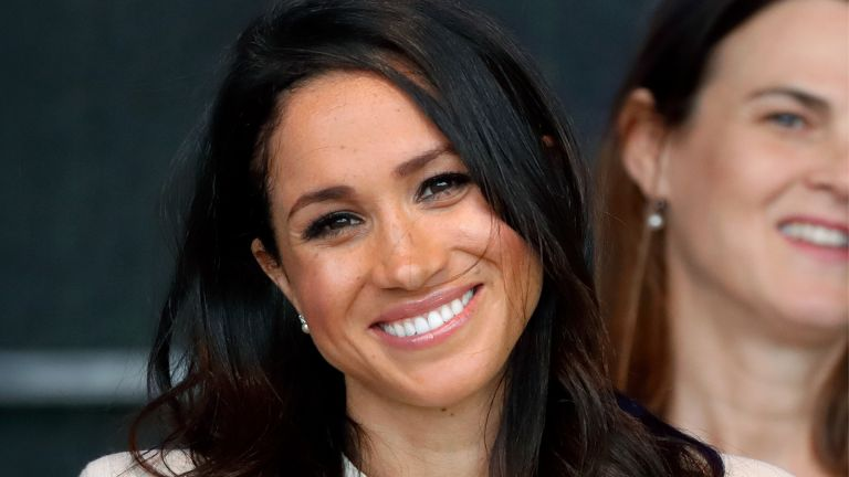 WIDNES, UNITED KINGDOM - JUNE 14: (EMBARGOED FOR PUBLICATION IN UK NEWSPAPERS UNTIL 24 HOURS AFTER CREATE DATE AND TIME) Meghan, Duchess of Sussex attends a ceremony to open the new Mersey Gateway Bridge on June 14, 2018 in Widnes, England. Meghan Markle married Prince Harry last month to become The Duchess of Sussex and this is her first engagement with the Queen. During the visit the pair will open a road bridge in Widnes and visit The Storyhouse and Town Hall in Chester. (Photo by Max Mumby/Indigo/Getty Images)