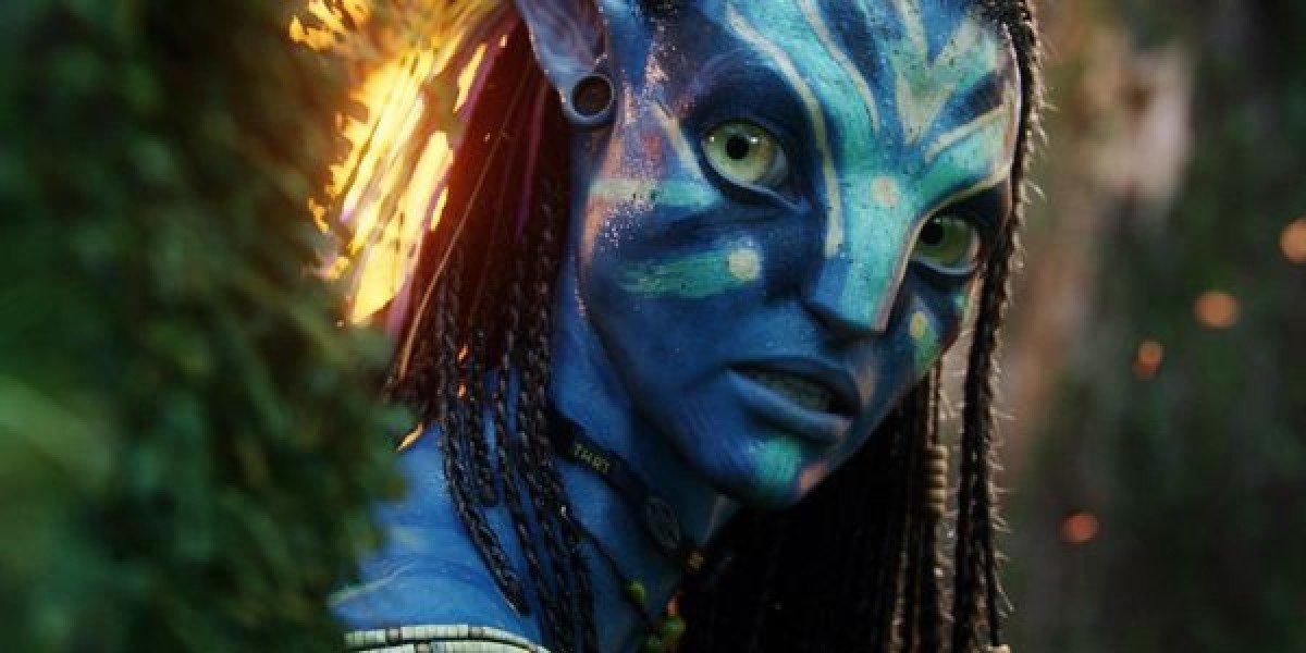Zoe Saldana in Avatar 2009