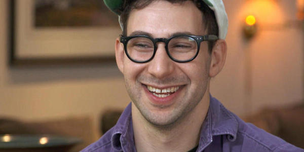 Jack Antonoff CBS News interview smile casual