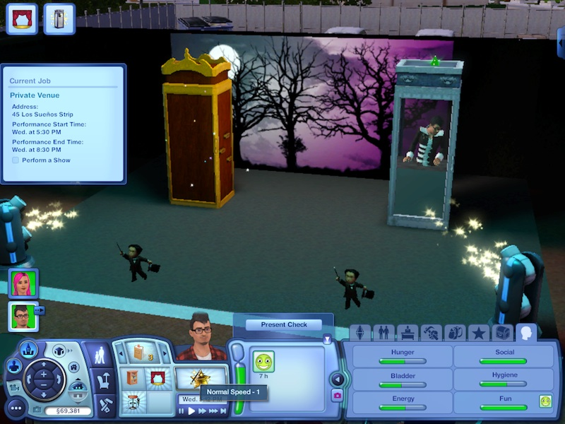 The Sims 3 Showtime Expansion Pack Review: Music, Magic And Acrobatics #21054