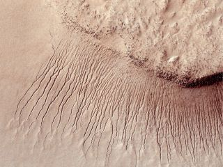 Mars land formations