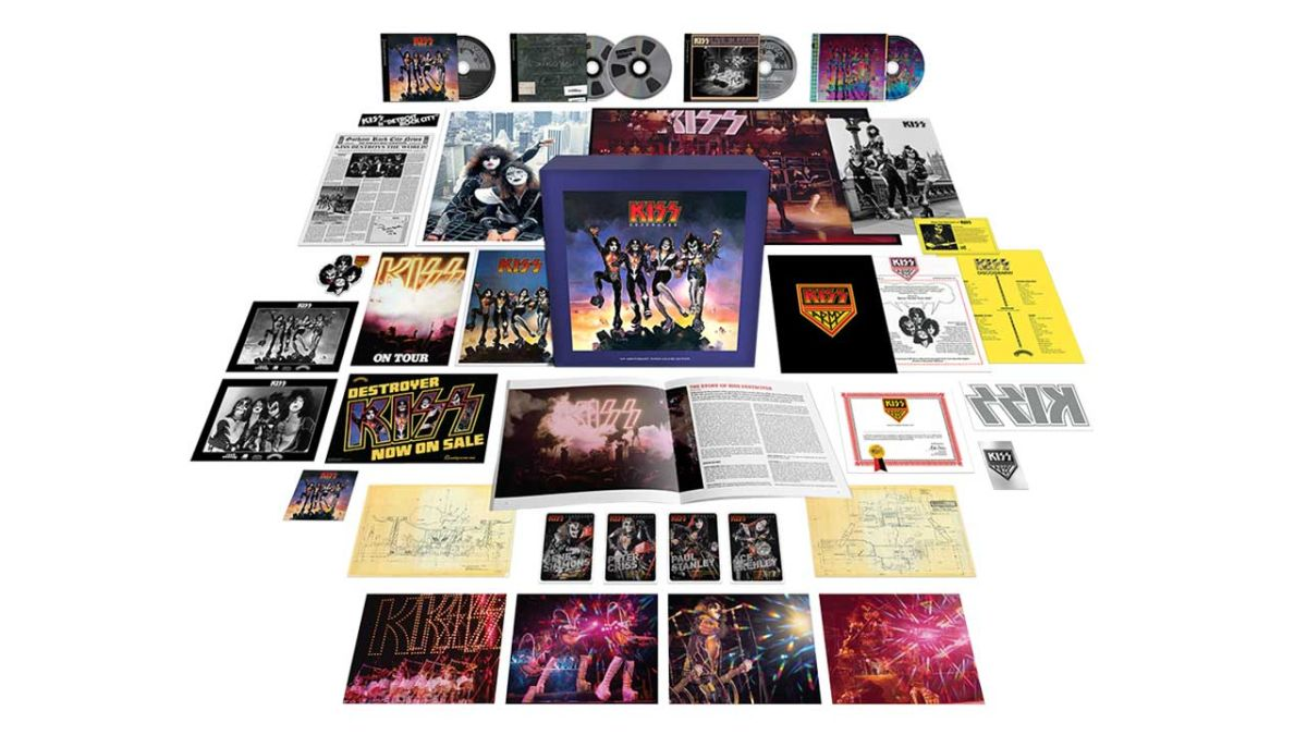 Kiss launch Destroyer 45th anniversary super deluxe edition box set