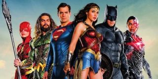 The cast of Justice League assembled