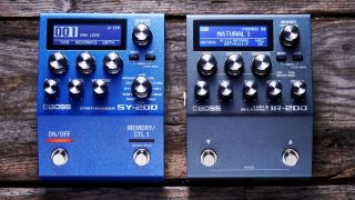 IR-200 Amp & IR Cabinet and SY-200 Synthesizer