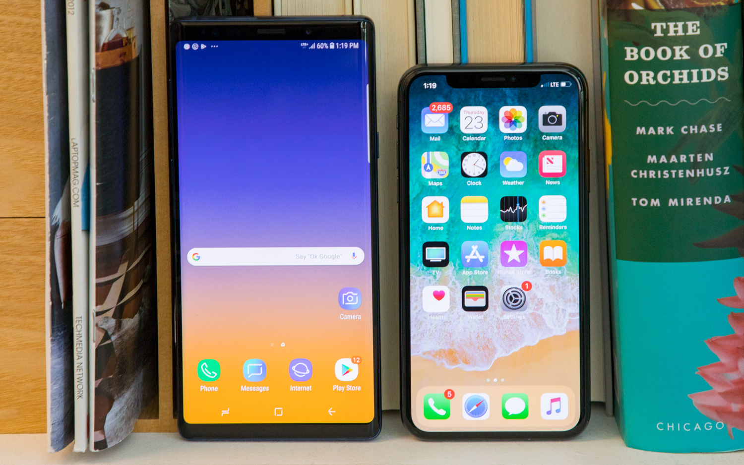iPhone XS vs  Galaxy Note 9: Why Apple's Camera Wins | Tom's