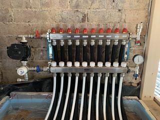 Underfloor heating manifold