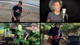 Members of Alice in Chains, Mastodon and Anthrax cover Soundgarden's Rusty Cage in blistering new playthrough video