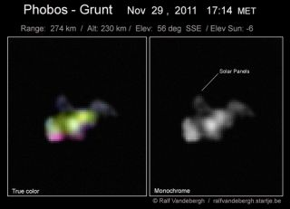 Skywatcher Phobos-Grunt Photo