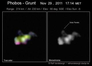 Skywatcher Phobos-Grunt Photo