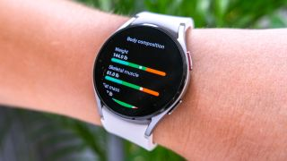 Samsung Galaxy Watch 4 body composition analysis