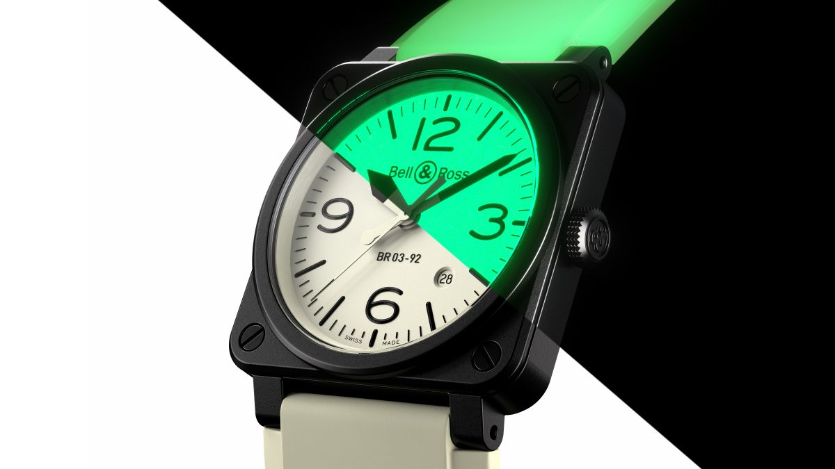 This Bell & Ross is the brightest watch you'll ever lay your eyes on