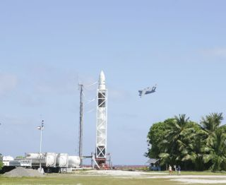 SpaceX Again Poised for Falcon 1 Rocket Debut