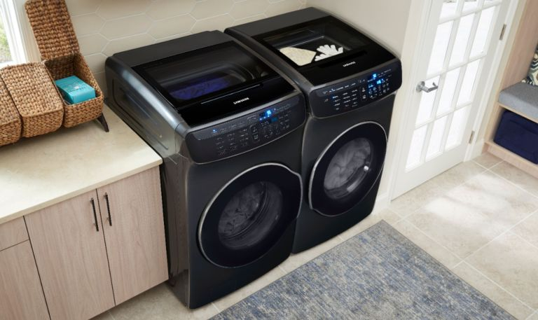 best washing machine in a utility room