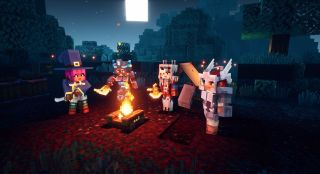 How to trade with friends in Minecraft Dungeons