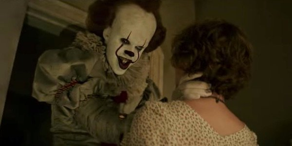 Pennywise grabbing Beverly in IT