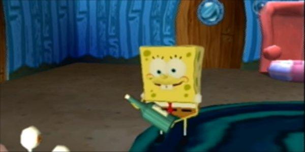 Spongebob Squarepants Speedrun Glitch