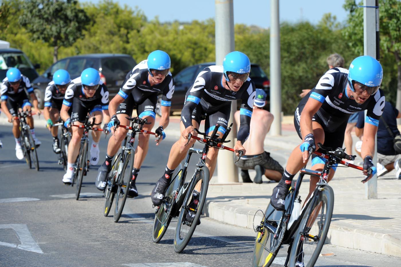Garmin-Cervelo, Vuelta a Espana 2011, stage one TTT