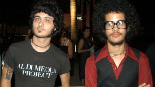 Cedric Bixler-Zavala and Omar Rodríguez-López in 2003