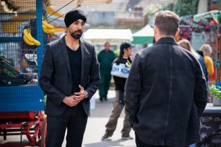 Kheerat Panesar thanks Ben Mitchell in EastEnders.