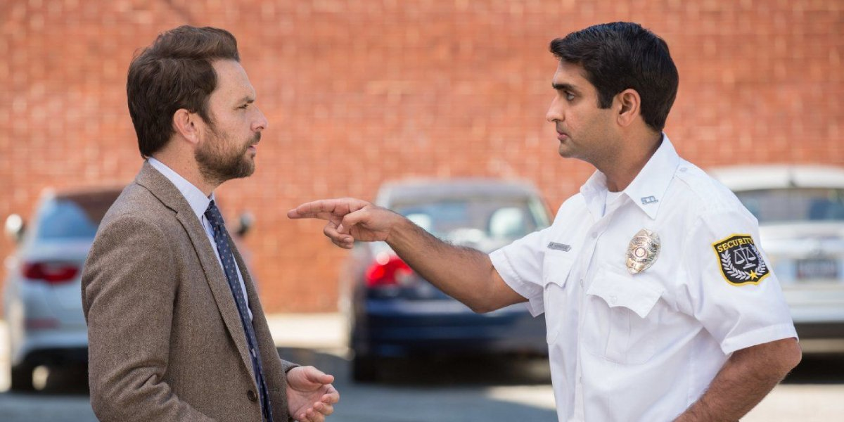 Charlie Day and Kumail Nanjiani in Fist Fight