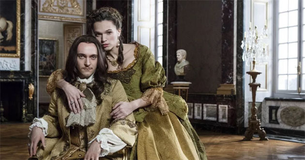 Everyone's out to get King Louis!' says Versailles star George Blagden