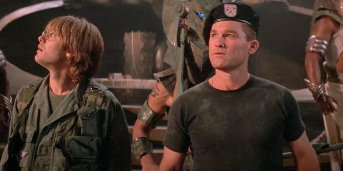 Kurt Russell in Stargate