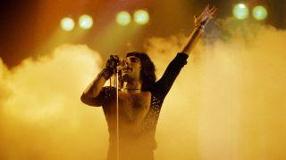 Queen's Freddie Mercury in 1975