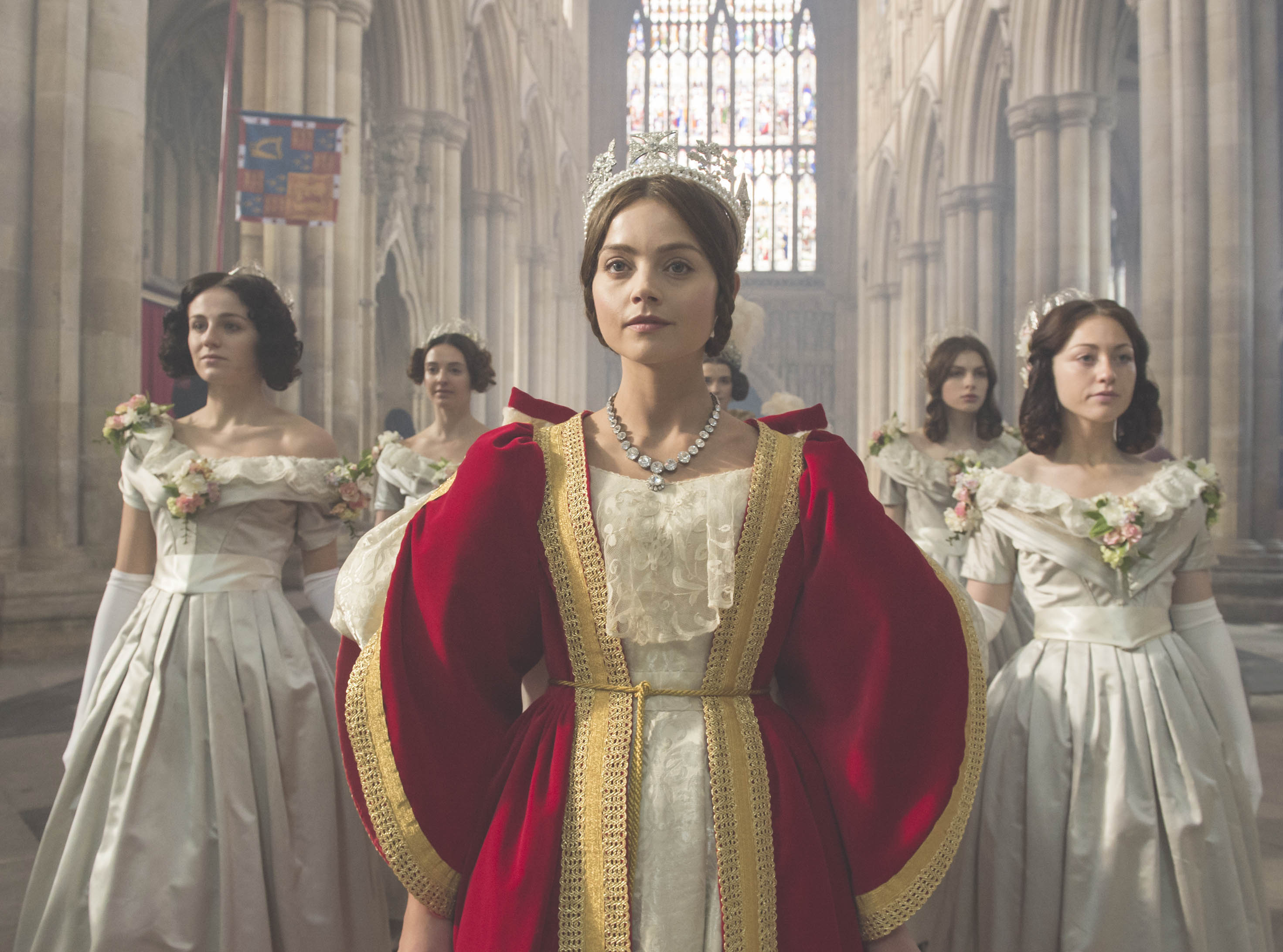 Jenna Coleman stars as Queen Victoria