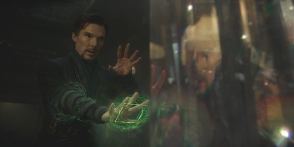 Doctor Strange Benedict Cumberbatch Spell Casting
