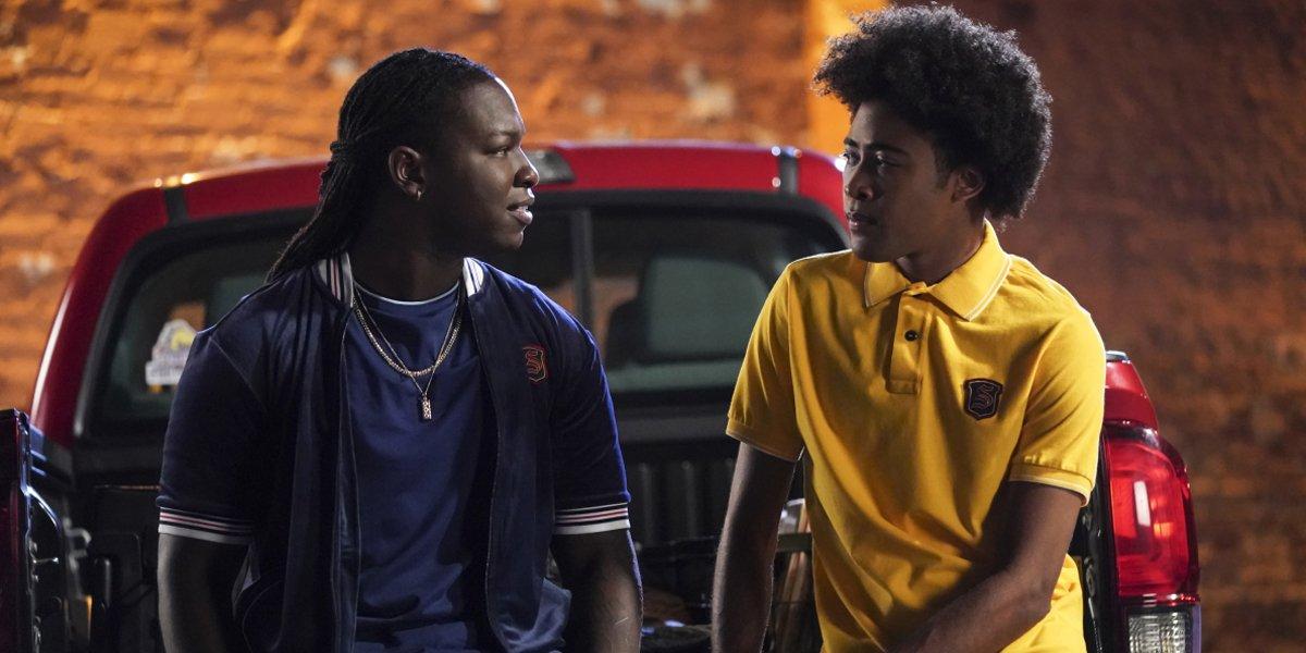 Legacies Season 2 2019 premiere Kaleb and MG The CW