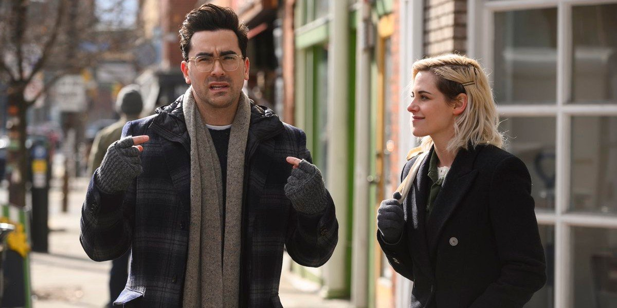 Dan Levy, Kristen Stewart - Happiest Season