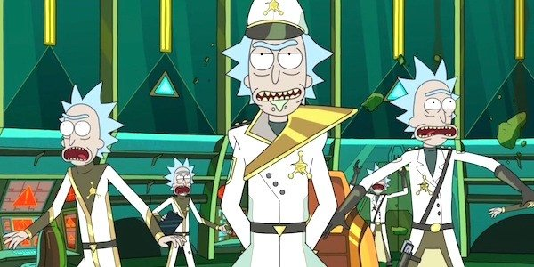 Council of Ricks Rick and Morty Adult Swim