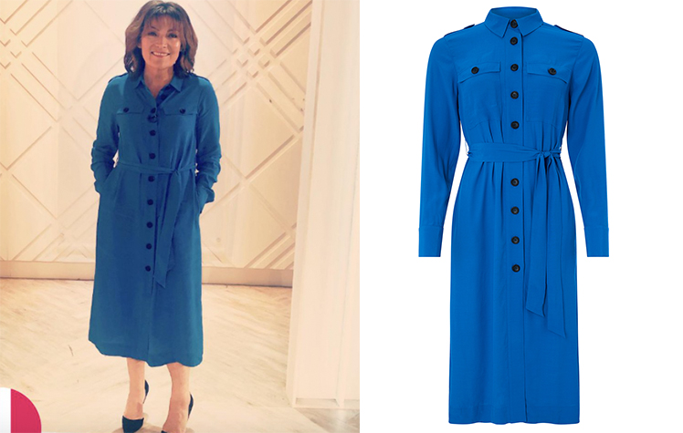 e64f0c6c7c4 Lorraine Kelly s High Street Dresses - from Hobbs to Zara