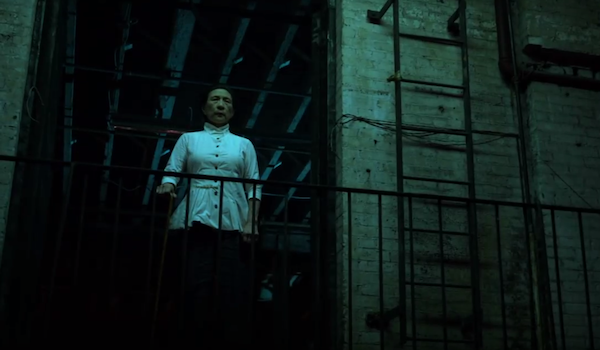 Madame Gao looking dangerous on iron fist